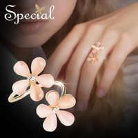 Speciale Europea e Americana di ciliegio polline anello di apertura del fiore elegante foresta anello Parigi midnight fiore fiori