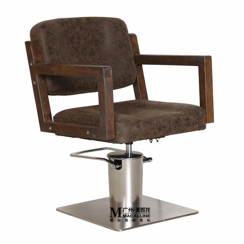 Cadeira de cabeleireiro de cabelo de venda de pode ser colocado de cabeleireiro cadeira de barbeiro de corte de cabelo de cabeleireiro cadeira