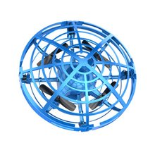 MINI RC Drone 4CH  Infraed Induction Quadcopter Gyro Fly Ball Smart Shatterproof Pocket UFO Flying Helicopter Toys For Kids