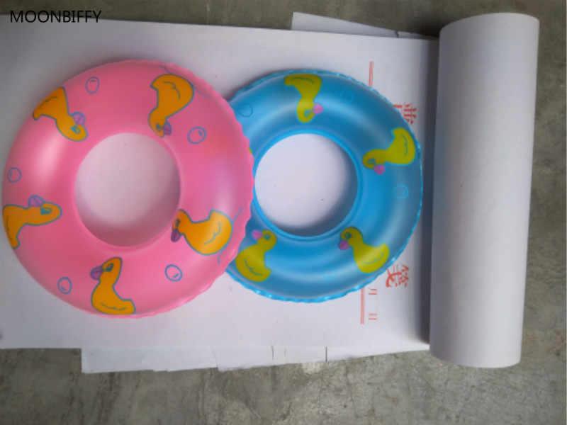 1 Pcs מיני שחייה מצוף חגורת הצלת טבעת עבור בובת אביזרי תינוק בובת אביזרי תינוק צעצועי מתנה הטובה ביותר 2 צבעים
