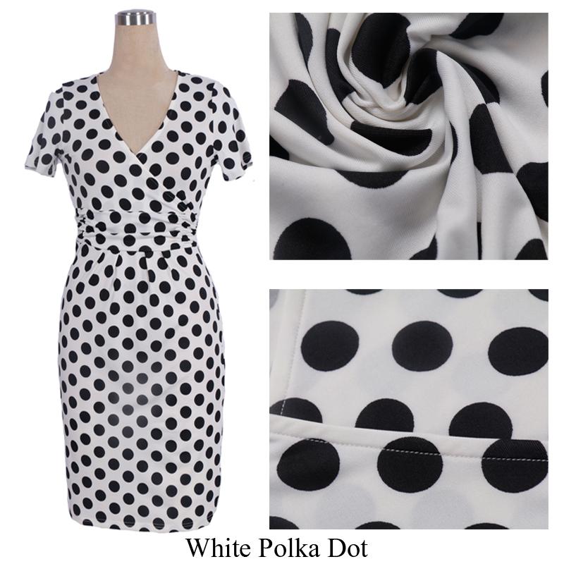 white Polka Dot 1