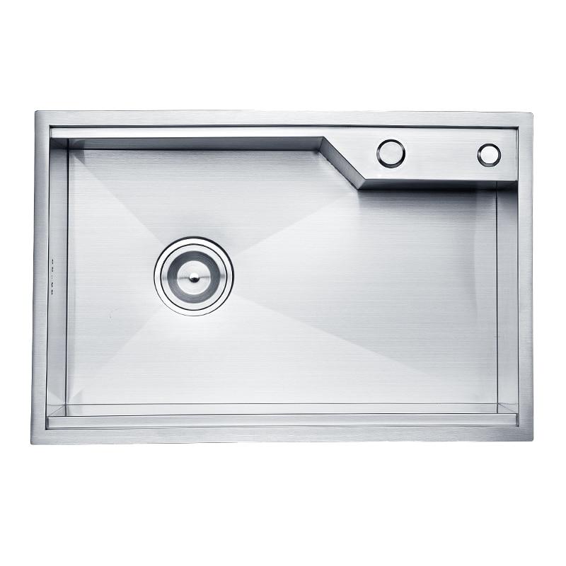 SUS304 Stainless Steel Kitchen Sink Single Holes Under