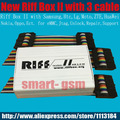 2017  Riff Box 2 Riff box v2 Riff box II  for LG&HTC, Samsung mobiles Repair and Flash(package with 3 Cable )