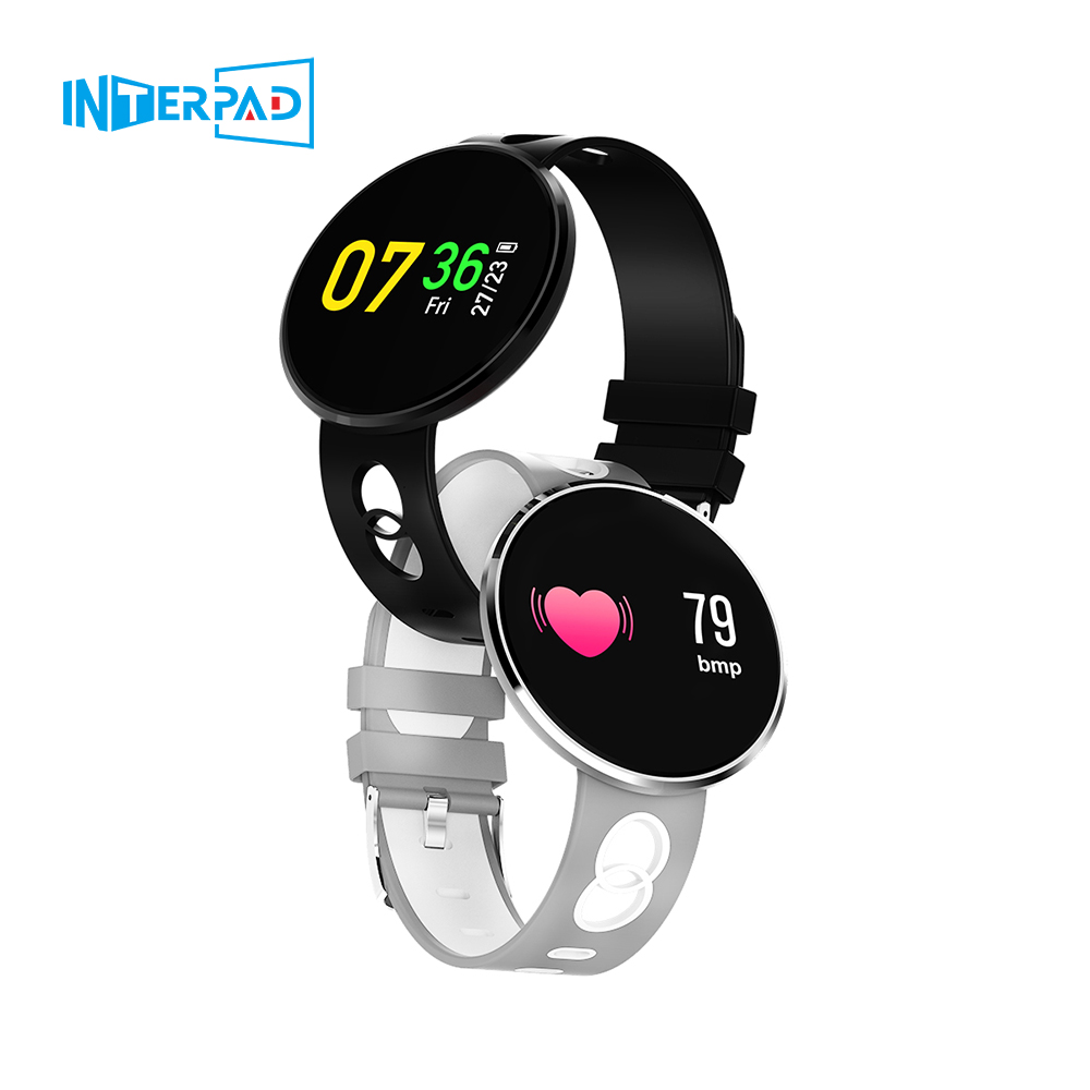 Interpad Sport Smart Watch CF006H Bluetooth Smartwatch For iOS iPhone Android Xiaomi Huawei With IP67 Waterproof Heart Rate