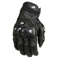 Free Shipping France S Top Furygan AFS 6 Motorcycle Gloves Leather Gloves With Carbon Fiber Black