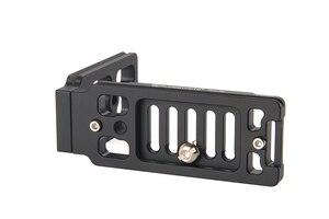 Image 4 - SUNWAYFOTO DPL 06R Tripod Monopod Başkanı Evrensel L tipi plaka DSLR kamera için vücut Profesyonel Alüminyum Hızlı Bırakma Plakası