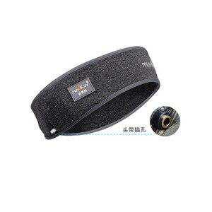 Image 5 - צעיף אוזניות אלחוטי Bluetooth כובע אוזניות שינה סרט כובע רך יוניסקס ספורט חכם לרוץ אוזניות סטריאו S L גודל עם מיקרופון