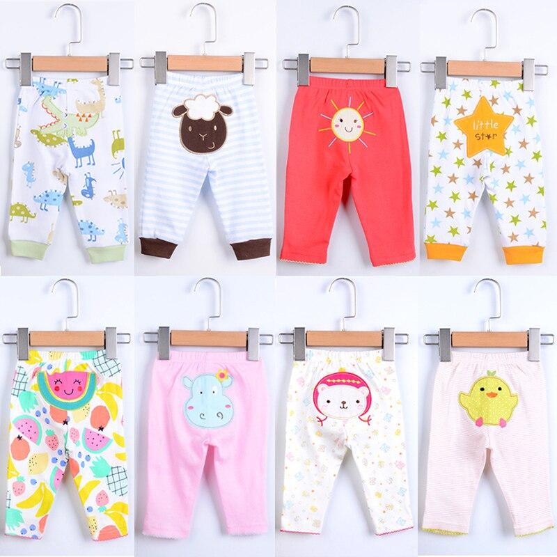 Pantalones de algodón para bebés 5pcs / lot PP Niños Ropa Babe - Ropa de bebé