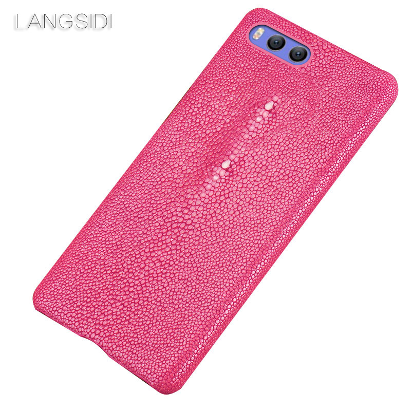 Wangcangli marque étui de téléphone portable perle poisson demi-paquet étui de téléphone pour Xiaomi Redmi Note 3 coque de téléphone fait à la main personnalisé