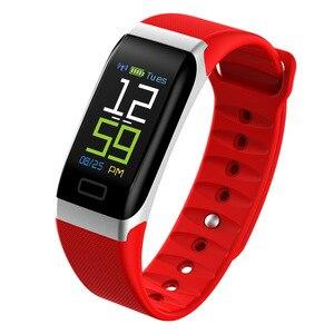 Image 3 - L8STAR R7 חכם צמיד להקת יד שעון גשש כושר קצב לב בריאות צג USB טעינה דם לחץ IP67 צעדים