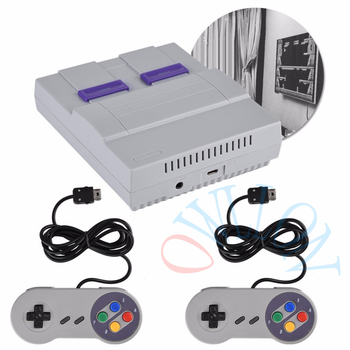 dhl ship 20pcs Super Mini 16 BIT Built-in 94 Games Console System with Gamepad for SNES Nintendo Game Games Consoles