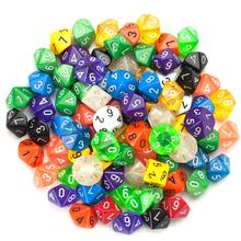 Multicolor D10 RPG Dungeons Dragons (China)