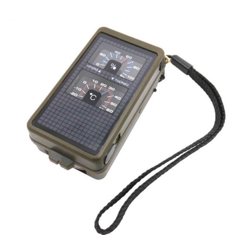 10-в-1 Многофункциональный набор инструментов для выживания на открытом воздухе военный Кемпинг Туризм компас набор для компаса