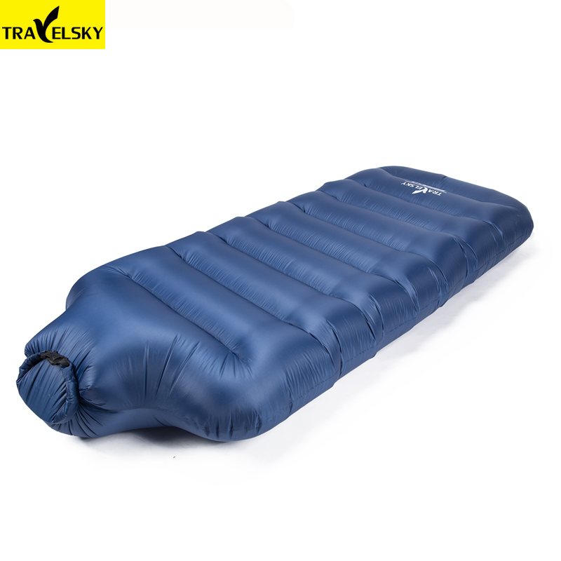 2018 Newest nylon waterproof Inflatable sofa summer camping sleeping beach portable folding fast Inflatable air bed for travel-in Cushion from Home & Garden    1