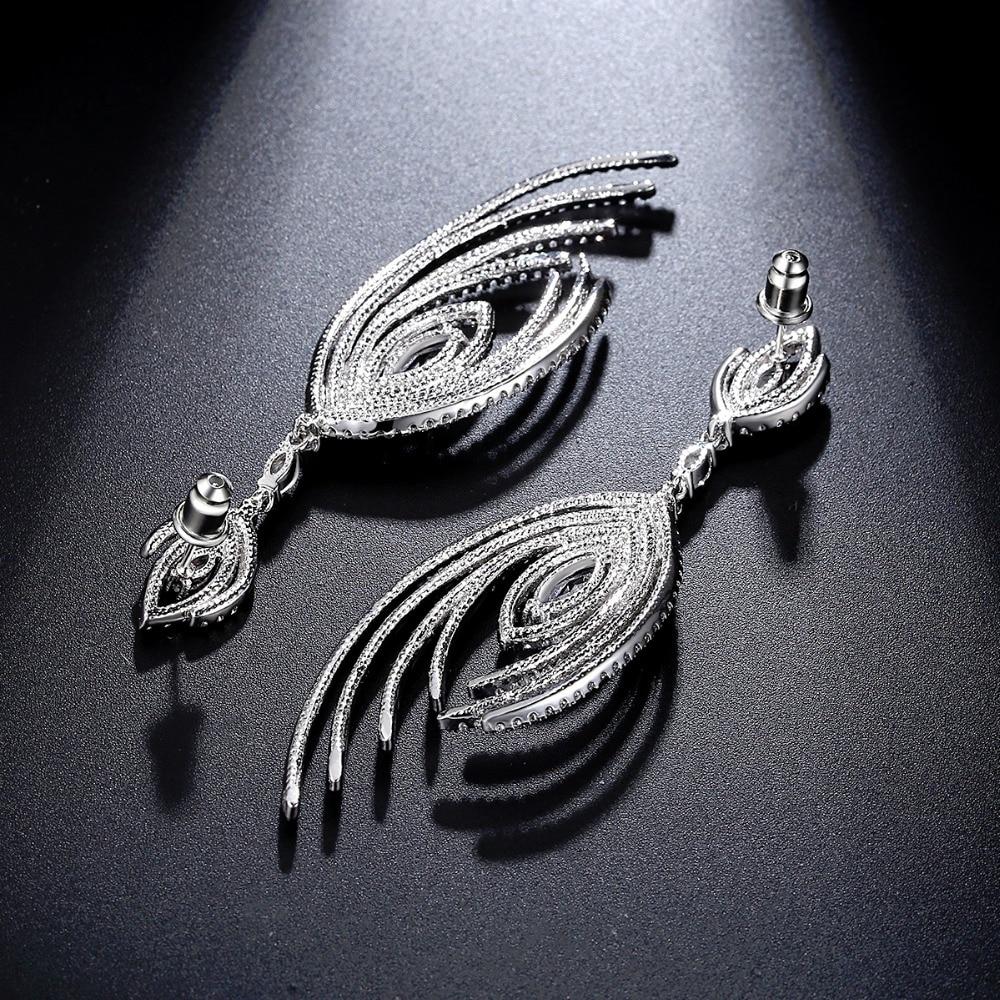LUOTEEMI Nye julegaver Håndlavede store dingle Brincos luksus - Mode smykker - Foto 3