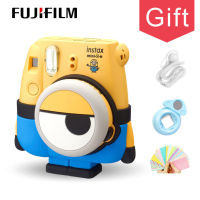 Genuine Minions Fuji Fujifilm Instax Mini 8 Camera Instant Printing Regular Film Snapshot Shooting Photos