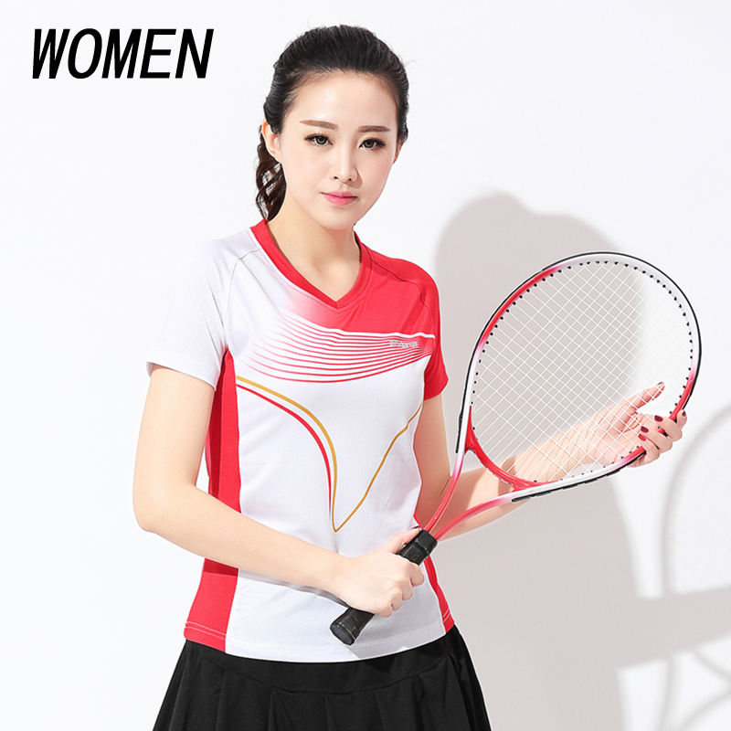 Badminton Shirt New Short Sleeve Men Table Tennis Clothing Quick Dry Tenis Masculino Plus Size Table Tennis Jersey9602
