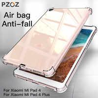 Pzoz para xiao mi mi almofada 4 mi plus caso tpu macio à prova de choque escudo protetor para xiao mi pad4 mais protetor tablet caso saco