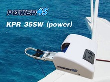 12V Electric Wireless Remote Control Anchor Winch Saltwater 35LBS Marine Boat