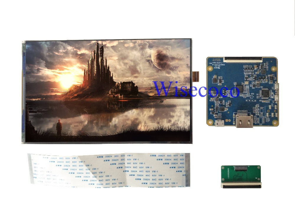 New 7 inch TFT LCD IPS screen 1200 1920 MIPI LCD display with HDMI driver board