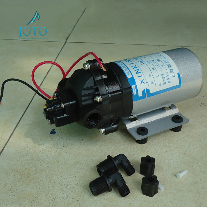 Electrical Micro DC 12V High Pressure Pump 5m Self suction Head Low Noise Corrosion Resistant DC