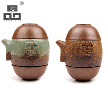 TANGPIN japanese teapot ceramic kettle gaiwan tea cup for puer chinese kung fu tea set drinkware