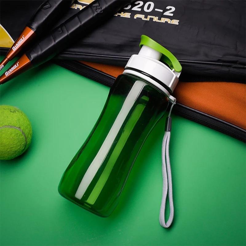 Plastic Sports Water Bottles, Sport Drinking Bottles, Portable Tea Bottle, 19oz & 24oz