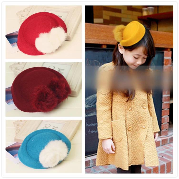 orejas de conejo del sombrero del beb del estilo accesorios para regalos de los nios hairclip
