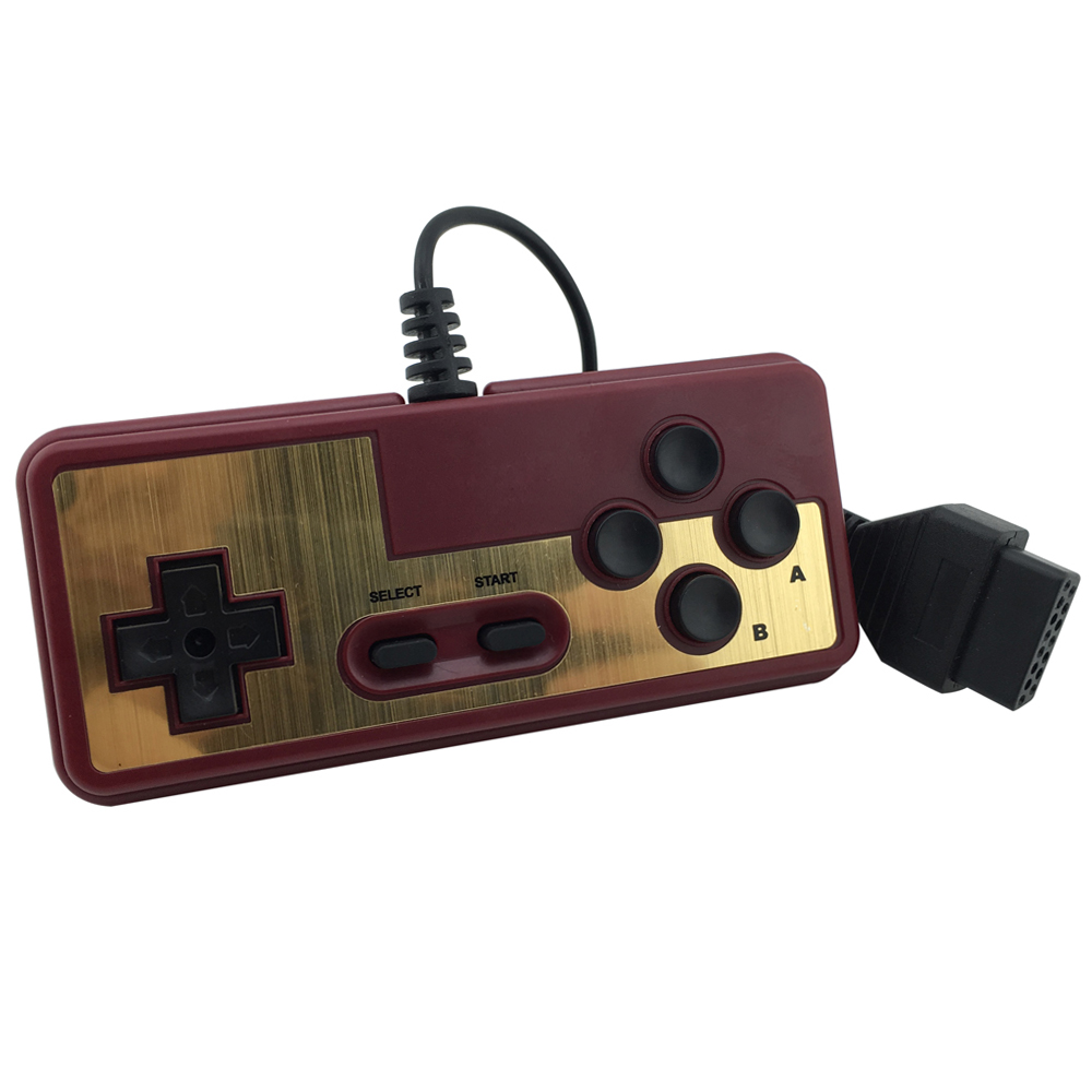 Para Nintendo consola de juegos gamepad 8 bits estilo 15Pin Plug Cable para Nintendo NES para FC mango del joystick