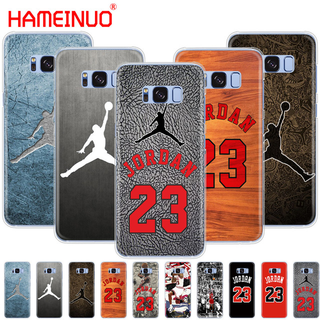 size 40 2eda2 2e2e2 US $1.99 32% OFF|HAMEINUO jordan 23 cell phone case cover for Samsung  Galaxy S9 S7 edge PLUS S8 S6 S5 S4 S3 MINI-in Half-wrapped Case from  Cellphones ...