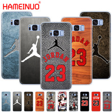 HAMEINUO jordan 23 cell phone case cover for Samsung Galaxy S9 S7 edge PLUS S8 S6 S5 S4 S3 MINI