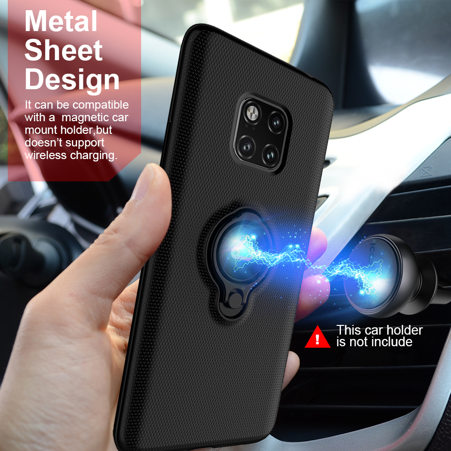 Cover Huawei Mate 20 Pro Case Magnetic Ring Armor Shell Hard PC Phone Cases for Huawei Mate 20 Pro Coque Capa for Huawei Mate 20