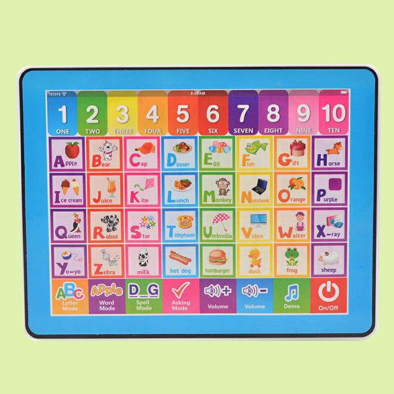 English Learning Machine Study English Machine Gifts Toys Portable Pink/Blue ...