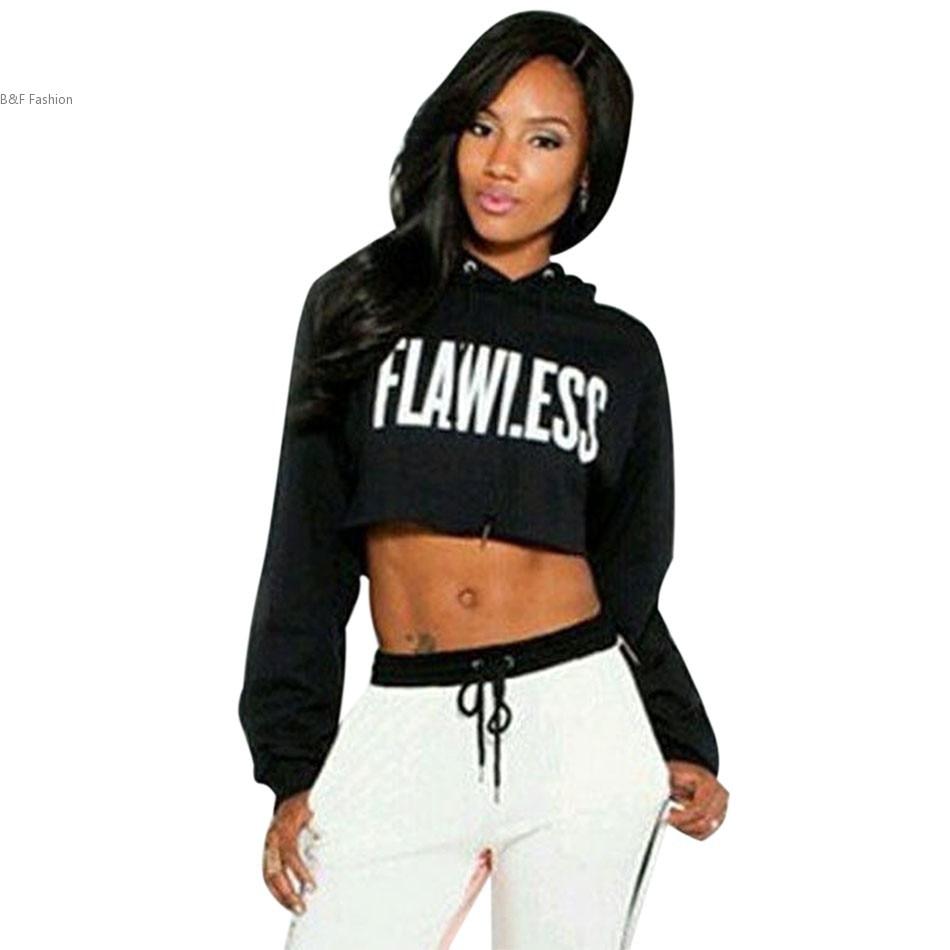 Womenu0026#39;s Clothing Hoodies Sweatshirts Hoodie Cotton Black white Hoody Sweatshirts Women Hoodies ...
