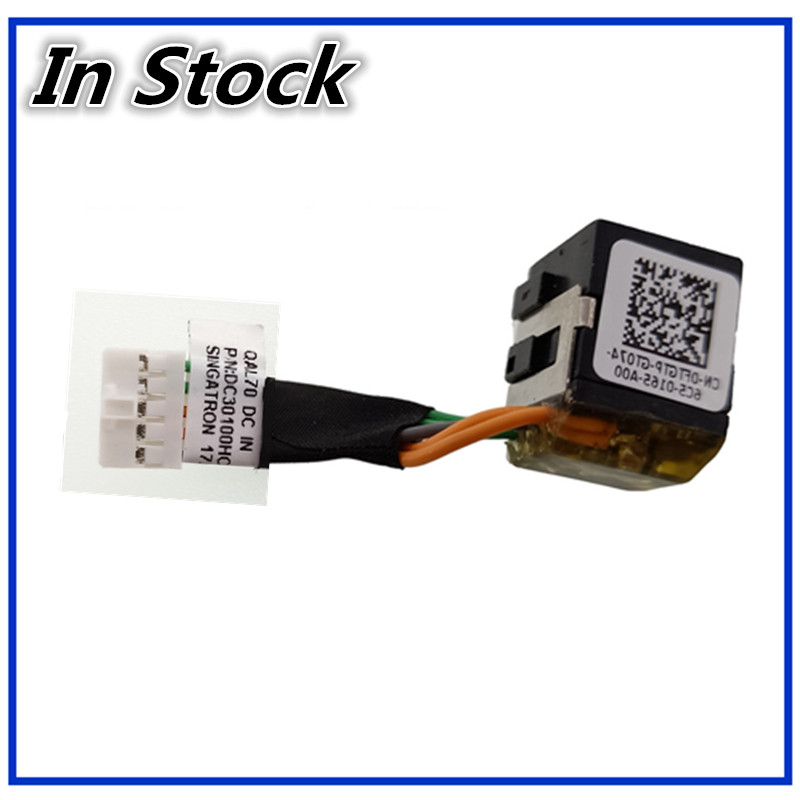 New For Dell Latitude E6330 E6430s 0FTGTP DC Jack Cable Power Socket Charging Connector Port Wire Cord