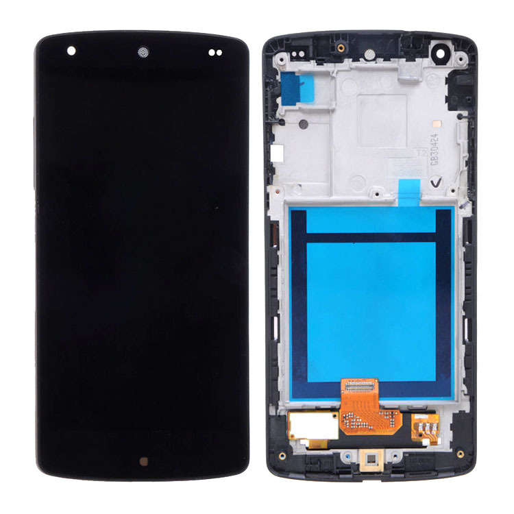 LCD Display+Digitizer Touch Screen Assembly+Frame for LG Nexus 5 D820 D821 Black High Quality new lcd touch screen digitizer with frame assembly for lg google nexus 5 d820 d821 free shipping