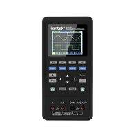 Hantek 3 в 1 цифровой осциллограф + генератор сигналов + портативный мультиметр USB 2 Каналы 40 мГц 70 мГц ЖК дисплей тесты метр