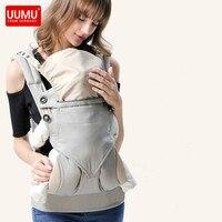 UUMU Cotton Ergonomic New Born Baby Backpacks Carrier Slings Wrap Holder No Hipseat Shoulder Accessories Hands