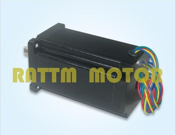 Quality NEMA34 1600 Oz-in CNC stepper motor stepping motor/5.0A цена