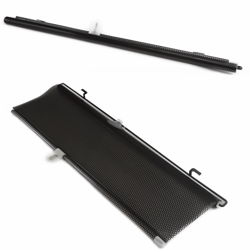 Universal 58x125cm Auto Accessories Retractable Side Window Car Sun shade Curtain Automatic Sunscreen Roller Blinds Window Film new universal car sunscreen car curtain window auto car curtain side window car sun shade window curtain 52 46 55cm