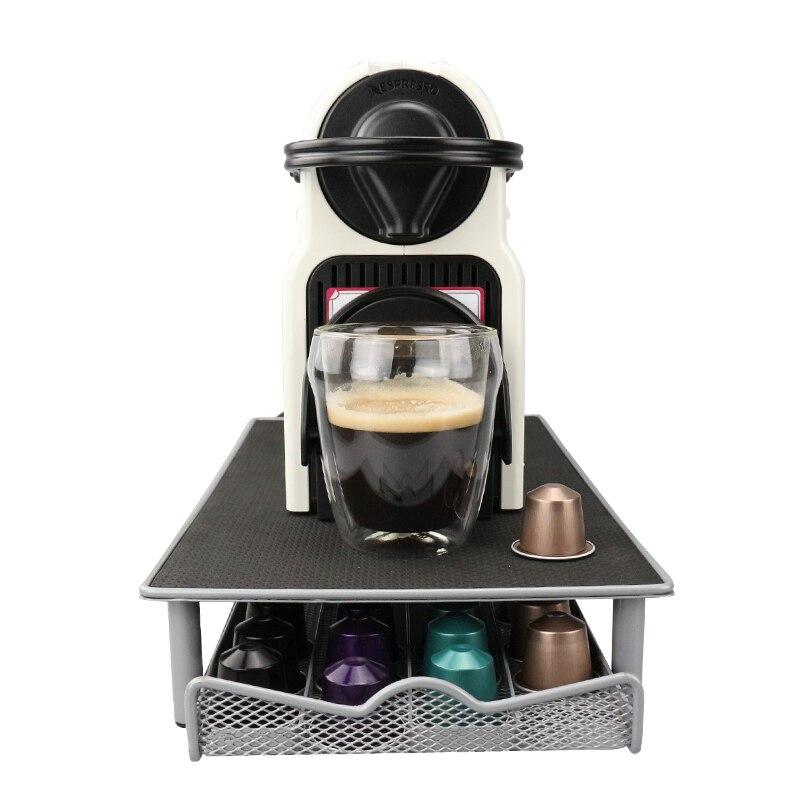 1PC Coffee Pod Drawer Holder Capsule Storage Drawer for Nespresso 40 Capsules