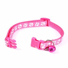 Lovely Adjustable Nylon Collars with Bell