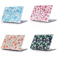 4 Color Flower Pattern Hard Case Cover for Macbook Air Pro 11 12 13 15 + Retina Free Shipping Laptop Bag