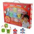 Números ABS Enigma numérico Robôs Transformação Robô de Brinquedo Educativo para Crianças de Aniversário Presentes de Natal NOVO NA CAIXA