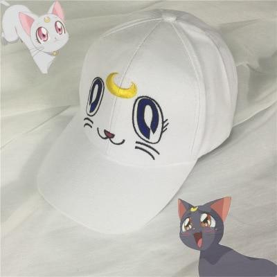 Anime Dziewczyna Sailor Moon Wojownik Kapelusz Baseball Hip Hip Hop