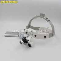 2.5X times surgery operation surgical Magnifier Dental Loupe with LED light