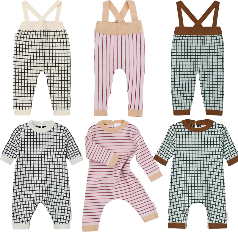 Tiny Cottons 2017 Baby Rompers Boys Girls Cotton Jumpsuits Newborn Baby Clothes Hat Overalls Autumn Winter Clothing Roupas Bebes цена