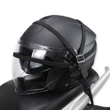 Motorcycles Helmet Rope Strength Retractable Hooks Fuel Tank Luggage Mesh Bungee Elastic Strap Net Belt High Quality