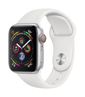 Apple Watch Watch Series 4, OLED, Pantalla tactil, GPS (satelite), Movil, 30,1 g, Plata