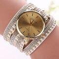 2016 New Fashion Women Wristwatches Casual Ladies Quartz Watches Leather Bracelet Watch Relogio Feminino 1371